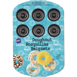 Donut Medium bakvorm voor 12 st