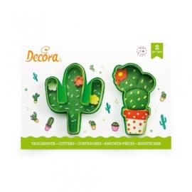 Cactussen cutters 2 st