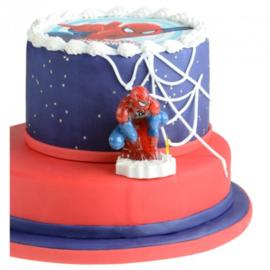Spiderman 3d kaars 8 cm
