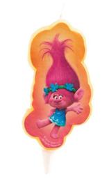 Trolls Poppy 2D kaars