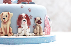 Dogs by Karen Davies (mould)