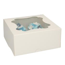 Cupcake box (4 cupcakes) - 5 st