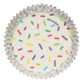 Baking Cups Sprinkles 48 st