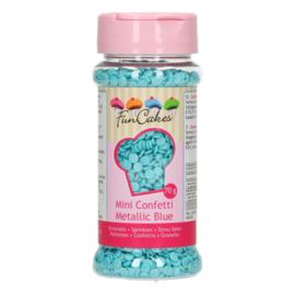 Mini Confetti Metallic Blue - 70 gr