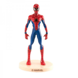 Spiderman cake topper plastiek 9 cm