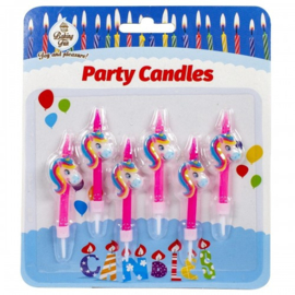 Party Candles Unicorn 6 st