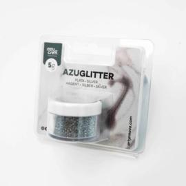 Decorative glitter ZIlver 5 gr
