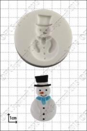siliconen mal -snowman-