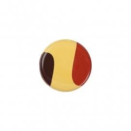 Bal Belgische vlag (chocolade)- 10 st