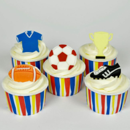 FMM Get Sporty Football uitstekersset 5 st