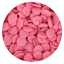Candy Melts Pink - rose (Funcakes) 250 gr