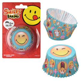 Baking Cups Smiley - 50 st