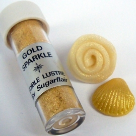 Sugarflair Gold Sparkle 2 gr