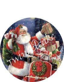 Santa eetbare print 2