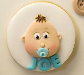 Cupcake top Baby by Karen Davies