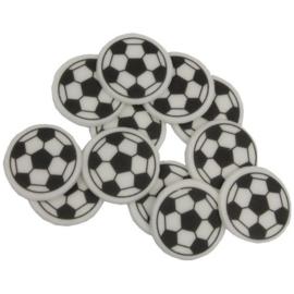 Voetbal schildjes 25 st