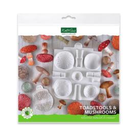 Katy Sue Mould & veiner Toadstools and mushrooms
