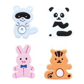 Cute Animals plunger cutter Cake Star - 4 st