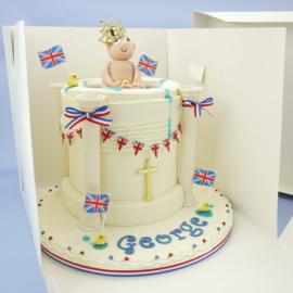 Boîte à gâteau extra haute 30.50 x 30.50 x 28 cm par 10 pcs