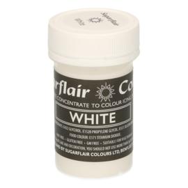 Sugarflair White Pastel Paste 25 gr