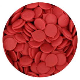 Candy Melts rood (funcakes) -  250 gr
