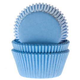 Cake Cups Sky Blue House of Marie  50 st