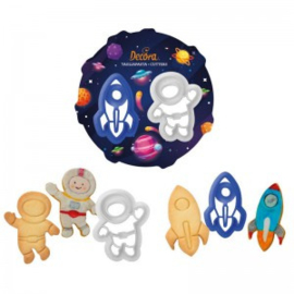Space cutter set 2 pcs