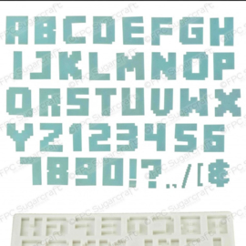 Alphabet & numbers (Alphabet Mould)
