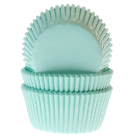 Cake Cups Mint-House of Marie 50 st