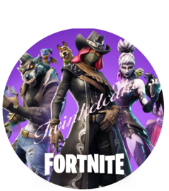 Fortnite taartprint 6