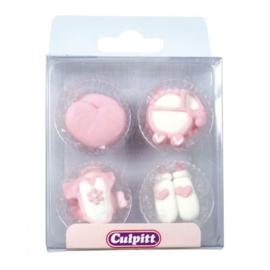 Culpitt suikerdecoratie baby  Girl 12 st