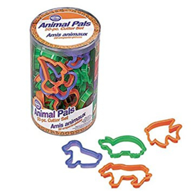 Set cutters animals 50 st wilton