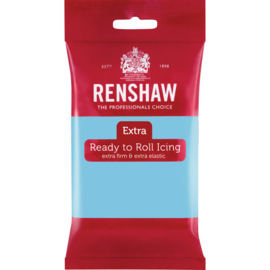 Renshaw Extra Baby Blue rolfondant 250 gr