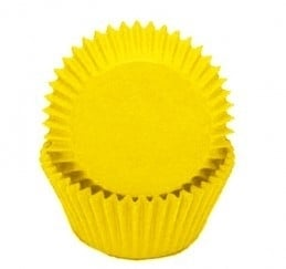 Mini Cake cups  Geel  House of Marie - 60 st
