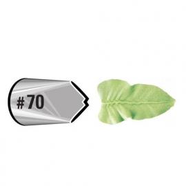 Wilton Icing tip 70 Leaf carded
