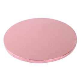 Cake drum Pink (Rose) rond 30 cm