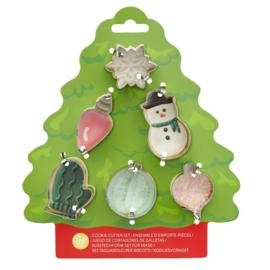 Wilton cookie tree cutter set 6 st