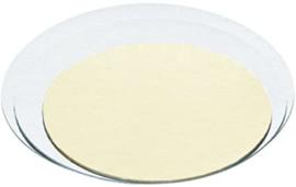 Cake board White - 16 cm per  10 st
