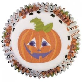 Halloween cups pompoen mini