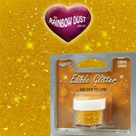 RD Edible Glitter Golden Yellow - 5 gr