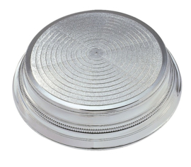 Cake Stand Round Silver - 355 mm