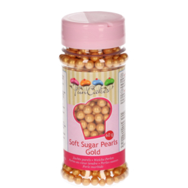 Soft Sugar Pearls Gold 60 gr