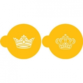 Royal Crowns stencil
