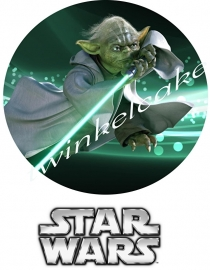 Essbare Bilder Star Wars  Yoda 2 - A3 (gross)