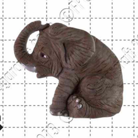 FPC Elephant (olifant) silicone mould
