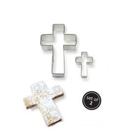 PME emporte-pièces croix jeu 2 pcs