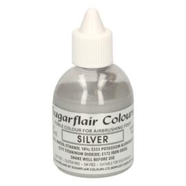 Sugarflair Airbrush Silver - 60 ml