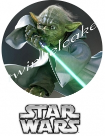 Essbare Bilder Star Wars  Yoda 1 - A3 (gross)