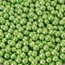 Suikerparels Metallic groen