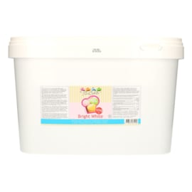 Rolled fondant Bright White 10 Kg (bucket)